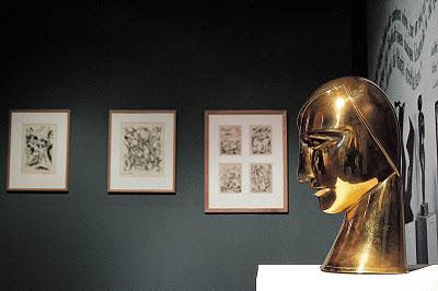 Rudolf Belling, Głowa kobiety, 1925