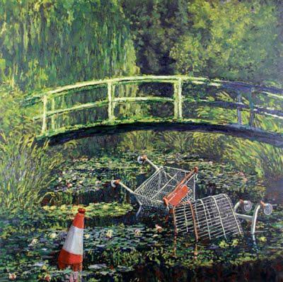 banksy-cart