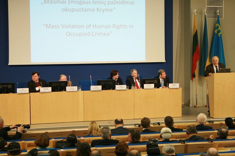 Spotkanie Rady Koordynacyjnej Światowego Kongresu Tatarów Krymskich w Wilnie, 10-13 kwietnia 2016 r. ilustr.: Piotr Hlebowicz