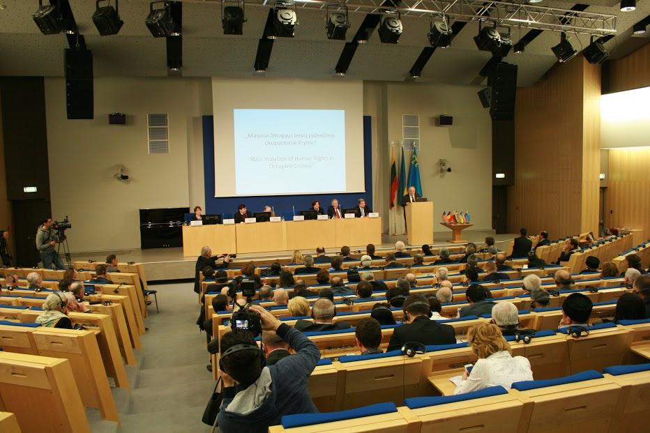 Spotkanie Rady Koordynacyjnej Światowego Kongresu Tatarów Krymskich w Wilnie, 10-13 kwietnia 2016 r.