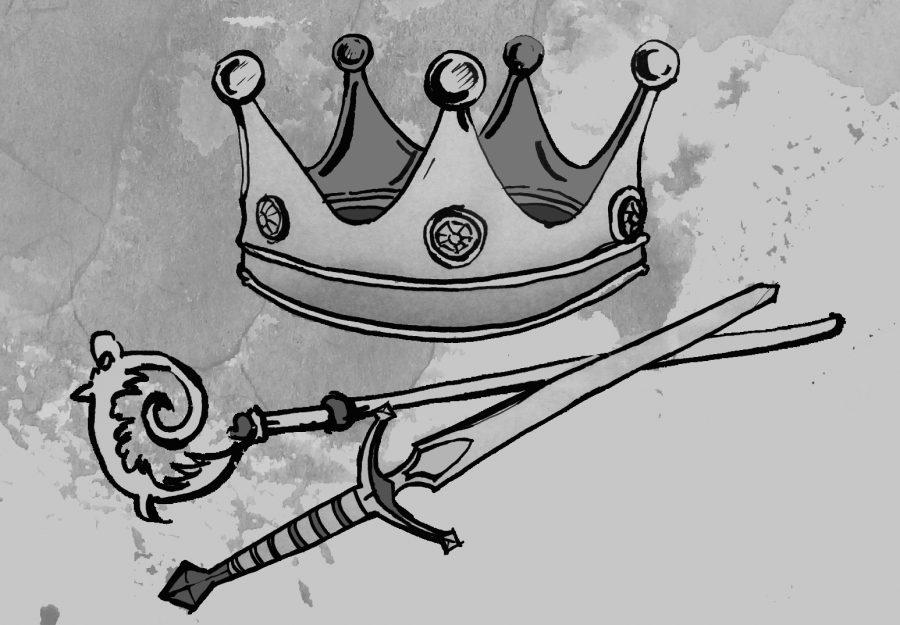 korona miecz pastoral