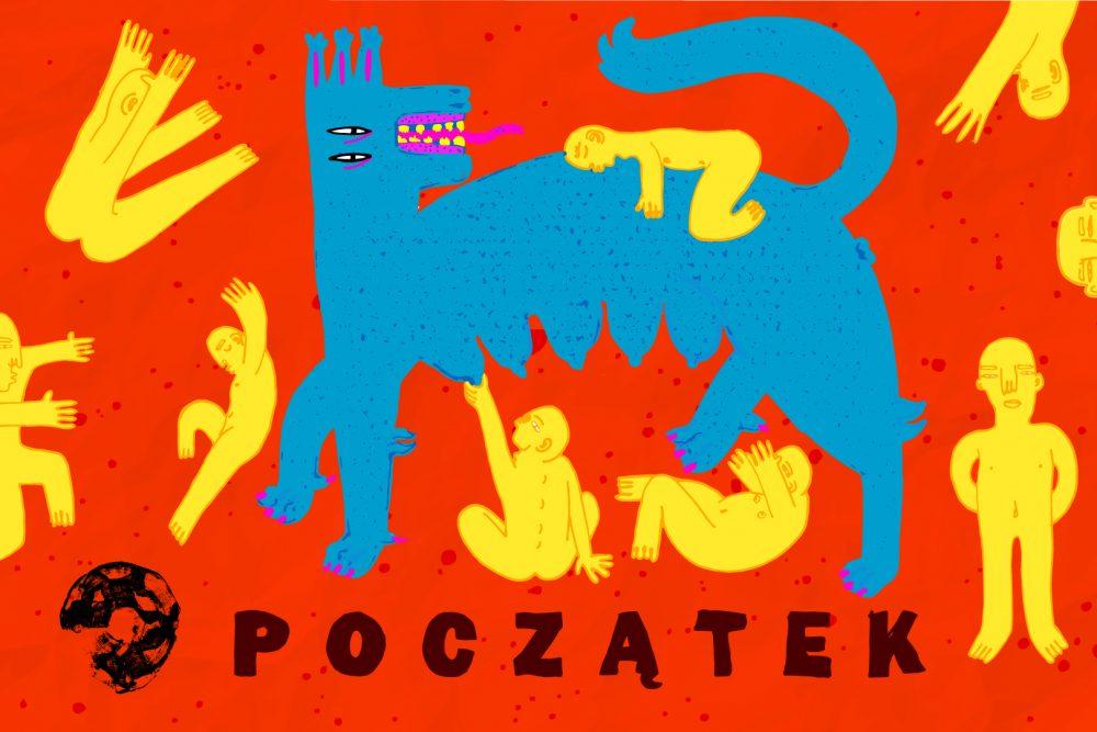 """ilustracja autorstwa Bartosza Kolczykiewicza jest okładką pierwszego numeru Magazynu """"Wizje"""""""