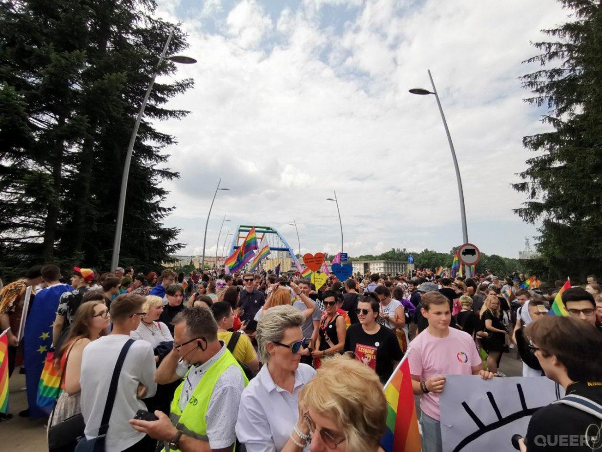 II Marsz Równości wRzeszowie, fot.R. Oliwa, queer.pl