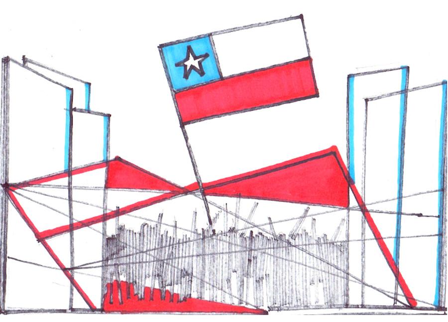 Chilijczycy burzą pomnik własnej transformacji