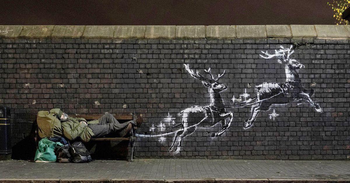 Boże, błogosław Banksy'emu