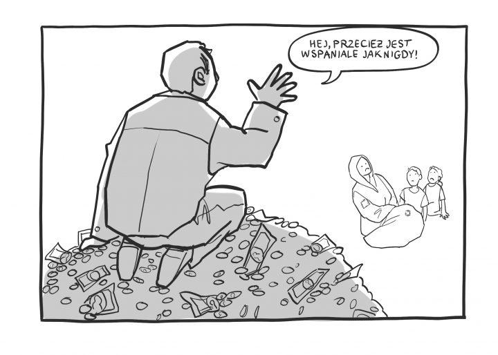 Komiks: Przecież jest wspaniale jak nigdy