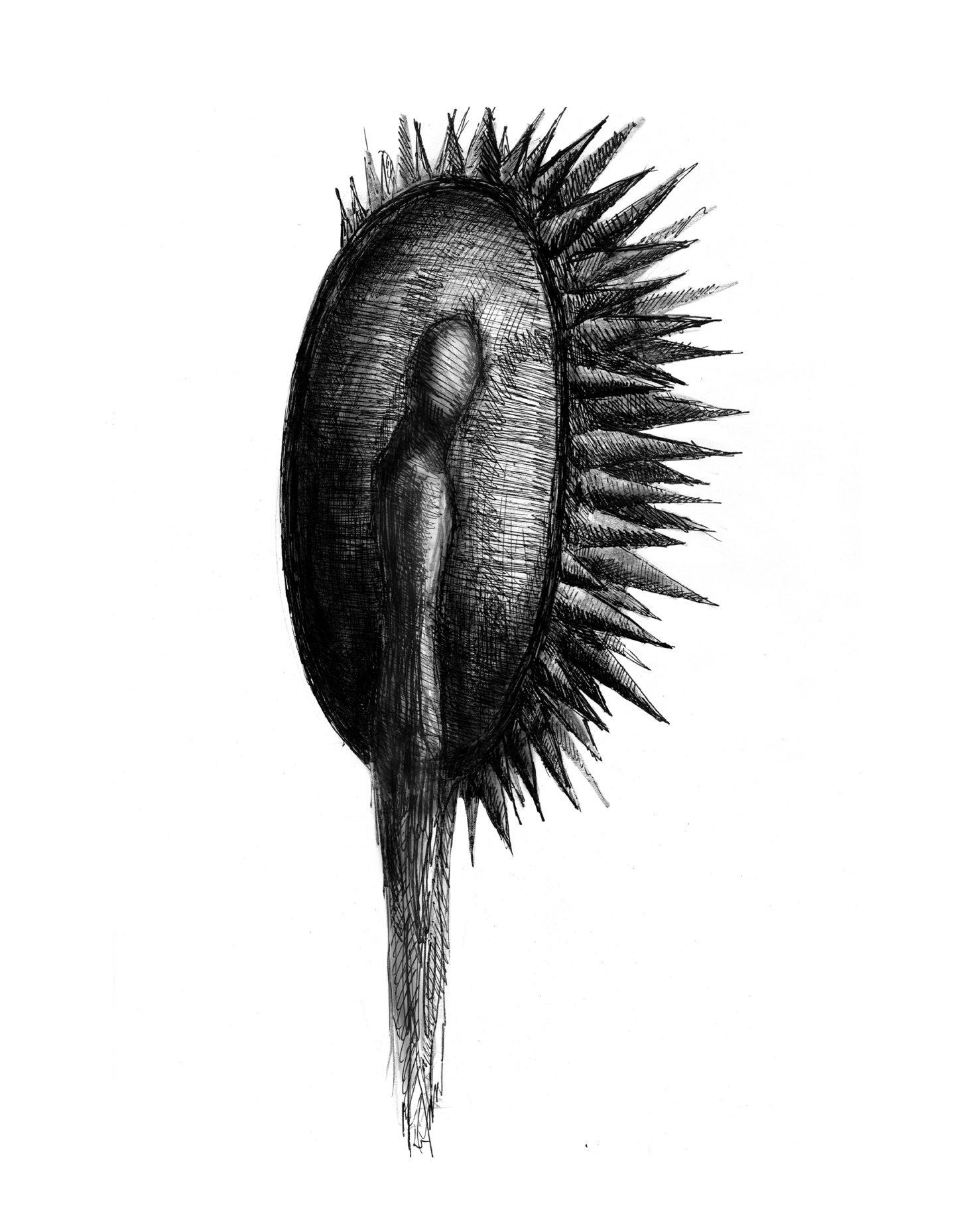 Malutki punkcik na strasznie czarnym oceanie