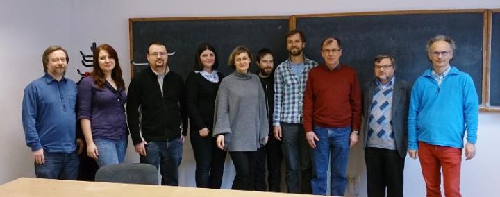 Członkowie grupy Virgo-Polgraw (zdjęcie: Marek Cieślar)