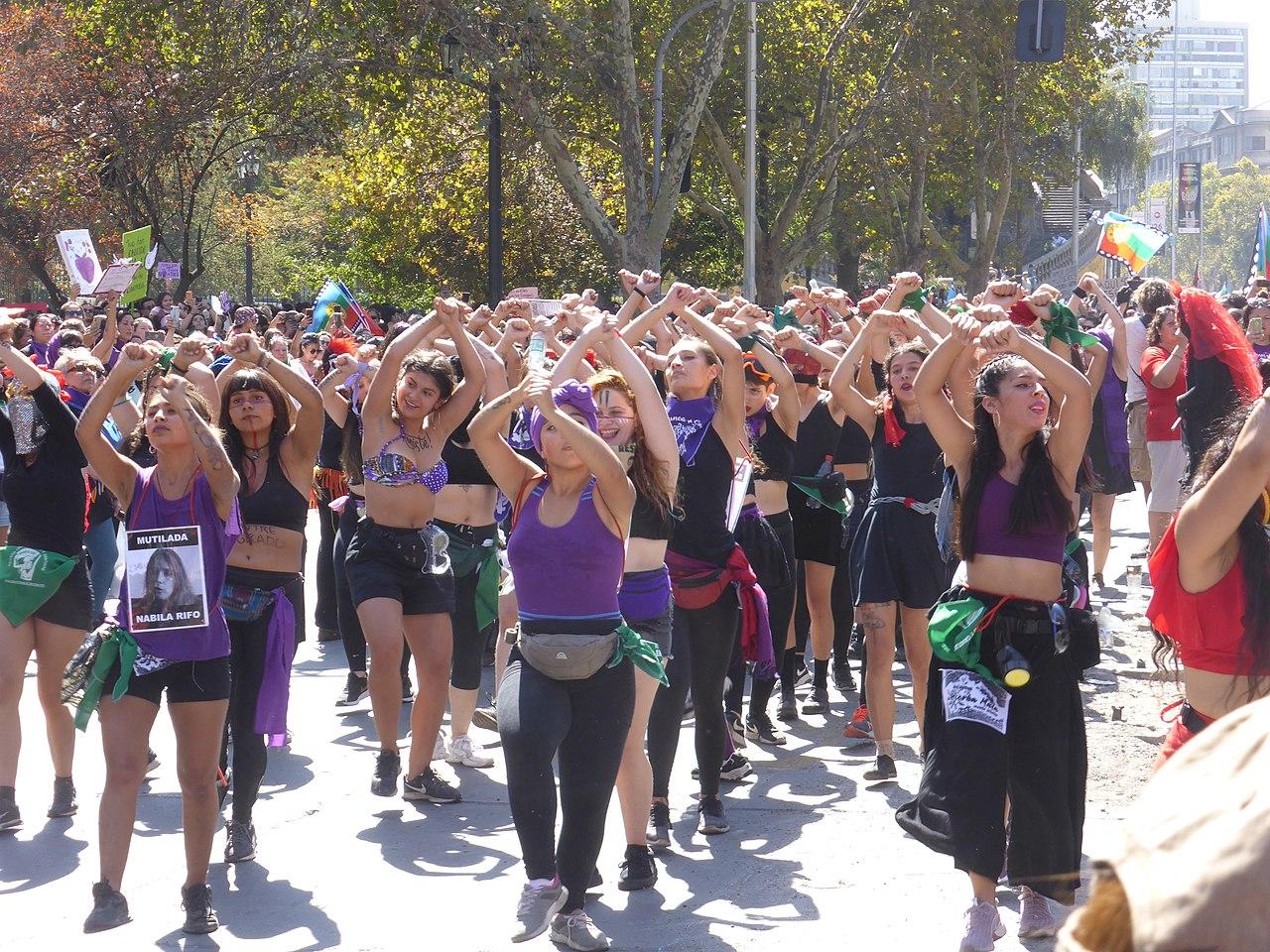Rewolucję w Santiago zaczęły kobiety