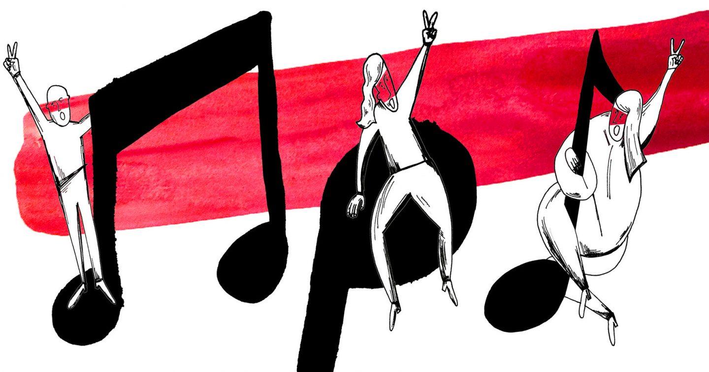 Siarhei Douhushau: Godne pieśni